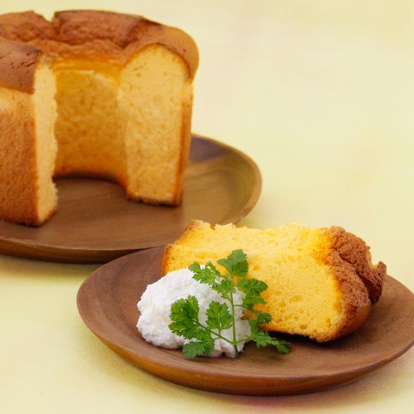 窯焼きシフォン(えびすかぼちゃ)