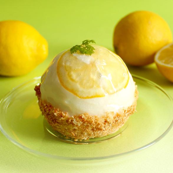 Fresh Color Pie_塩レモンチーズのパイ