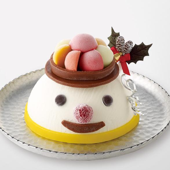 クリスマスアイスケーキ_スノーマン