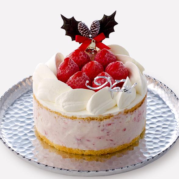 クリスマスアイスケーキ_ストロベリー