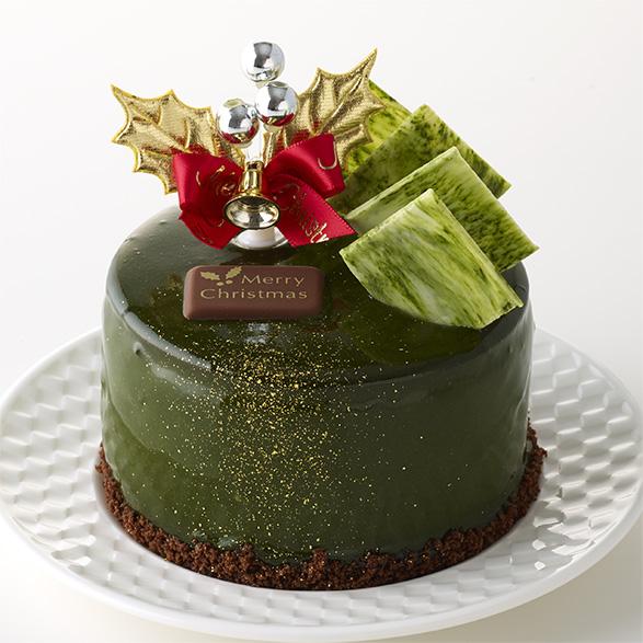 ~杏とライチ香る~_静岡抹茶のクリスマスケーキ