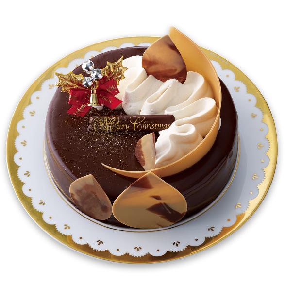 クリスマスチョコレートケーキ_~ミルクティー仕立て~